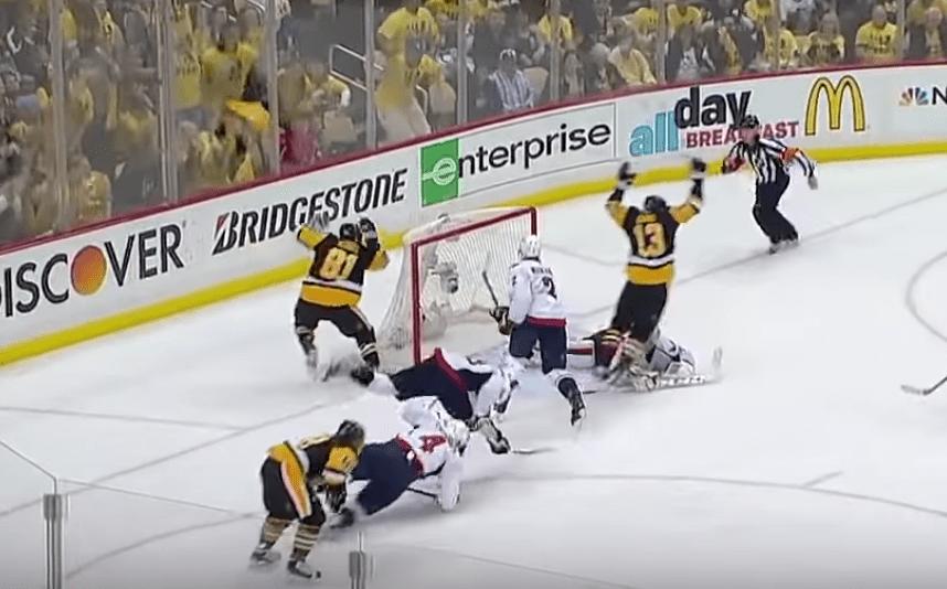 Pittsburgh Penguins Nick Bonino beat Washington Capitals