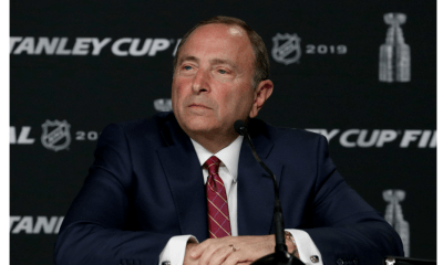 NHL return, NHL hub cities, Gary Bettman
