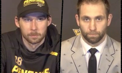 PIttsburgh Penguins Marcus Pettersson, Jason Zucker