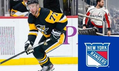 Pittsburgh Penguins, Tom Wilson, New York Rangers