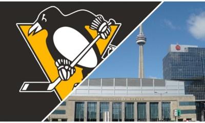 Pittsburgh Penguins logo NHL bubble city Toronto