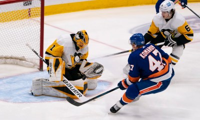 Pittsburgh Penguins game, New York Islanders