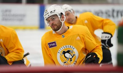 Pittsburgh Penguins Mark Friedman, Colton Sceviour, Anthony Angello