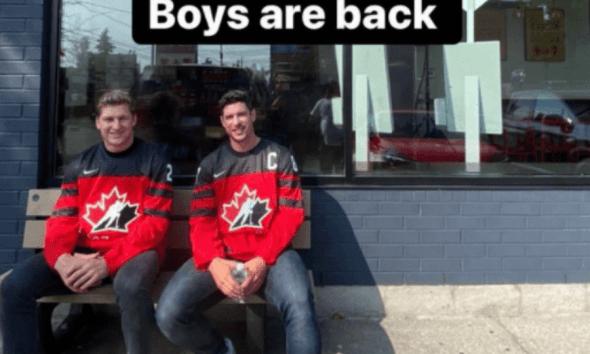 Pittsburgh Penguins, Sidney Crosby, Nathan MacKinnon, Team Canada