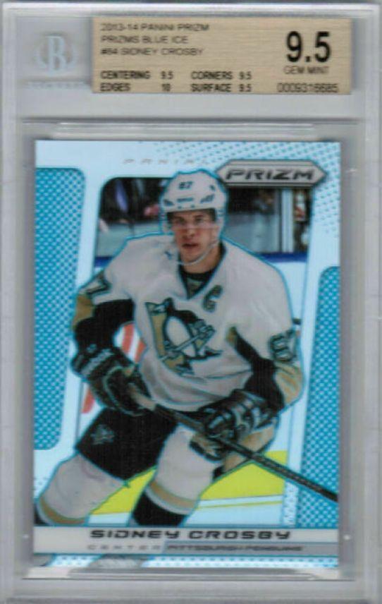 Crosby hockey card