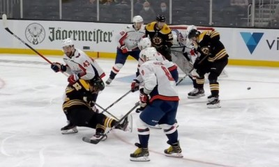 Tom Wilson, Washington Capitals, dirty hit, sean kuraly, boston bruins