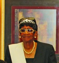 Marian Clark, 10 years of service.
