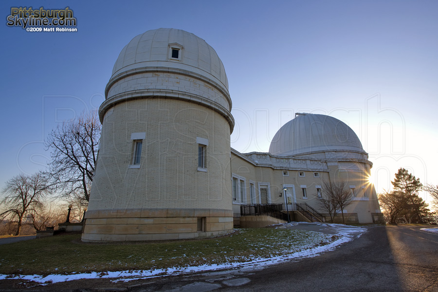 The Allegheny Observatory in Pittsburgh