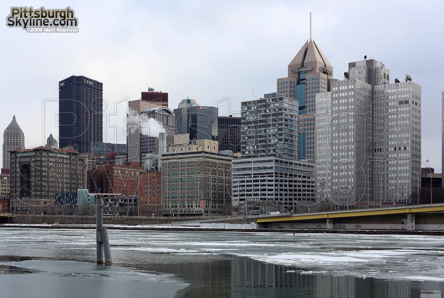 Cold Pittsburgh scene.