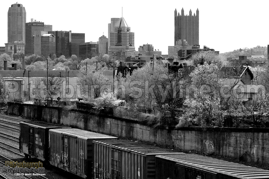 North Side railroad tracks