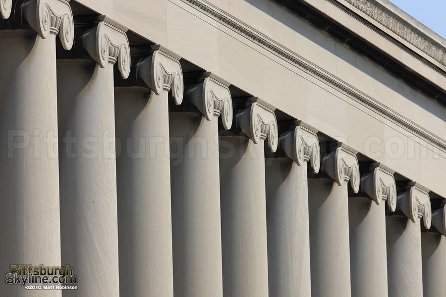 Mellon Institute Ionic Columns, Oakland