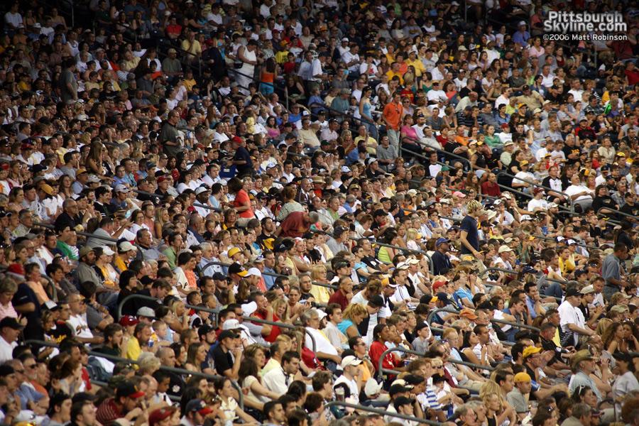 Fans at PNC Park
