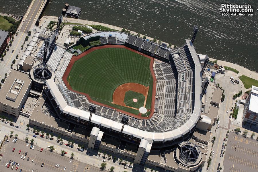 Aerial of PNC Park