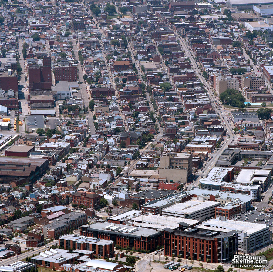 Southside from the air