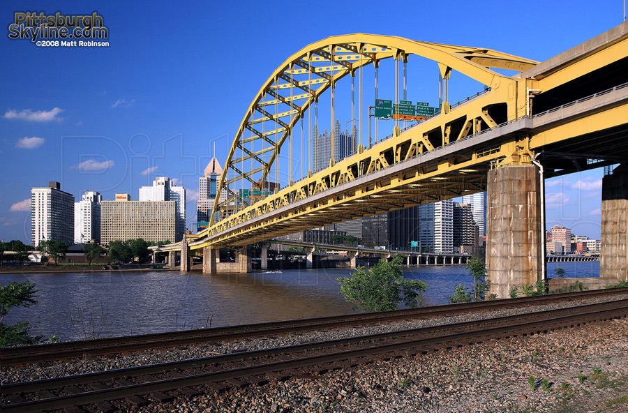 Fort Pitt Bridge.
