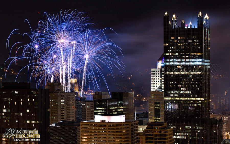 More Pittsburgh Fireworks.