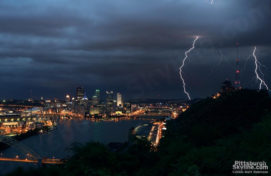 Pittsburgh lightning