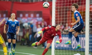 Meghan Klingenberg and her USWNT World Cup winning teammates will all be on hand for this Sunday's friendly at Heinz Field.