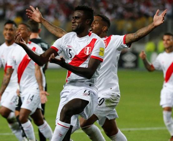 Ramos celebrates