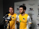 Rob Vincent and Kevin Kerr - Riverhounds 2015 scoring leaders