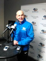 Riverhounds coach Mark Steffens (April 2015)