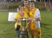 Riverhounds Capture Keystone Derby Cup at Harrisburg (Sept 2015)