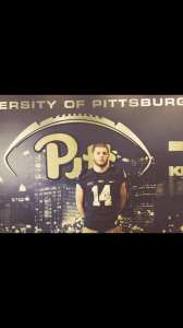 Mac Christy at Pitt Junior Day - Photo courtesy of Mac Christy