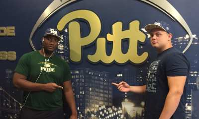 Josh Fedd-Jackson with Pitt commit Owen Drexel