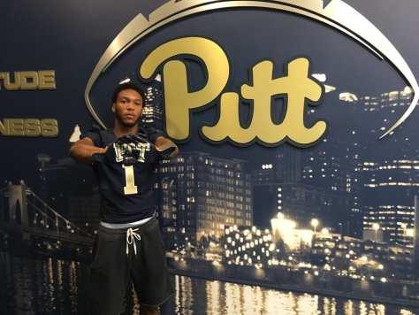 Derrek Pitts at Pitt - Photo courtesy of Derrek Pitts