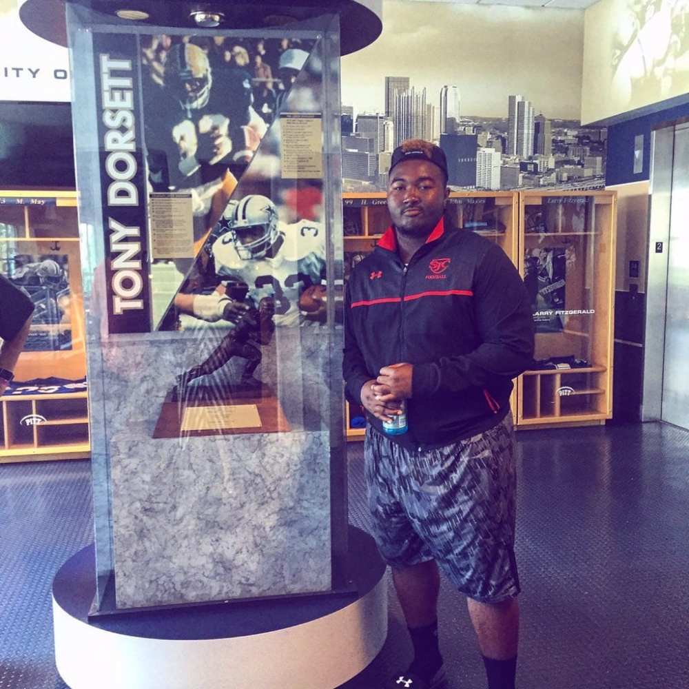 Cam Goode visiting Pitt in August