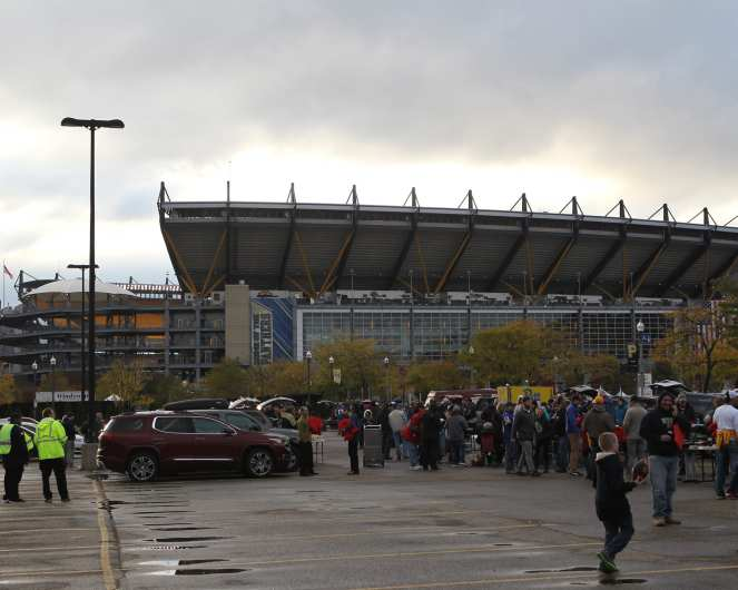 Heinz Field October 27, 2016 (Photo credit: David Hague)