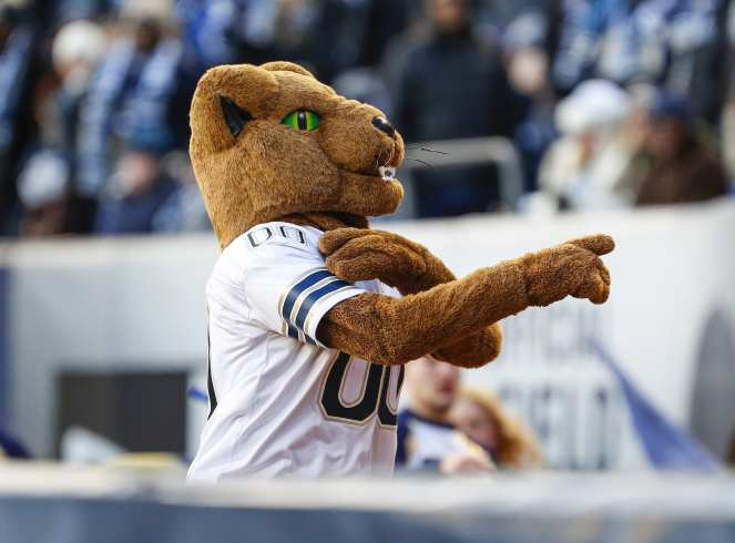 The Pitt Panther. The Northwestern Wildcats defeated the Pittsburgh Panthers 31-24 in the 2016 New Era Pinstripe Bowl at Yankee Stadium on Wednesday, December 28, 2016.