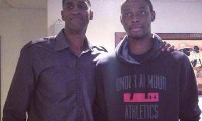 Peace Ilegomah and Charles Smith