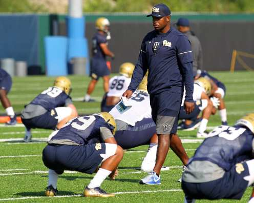 Pitt Stretching August 1, 2017 (Photo by David Hague)