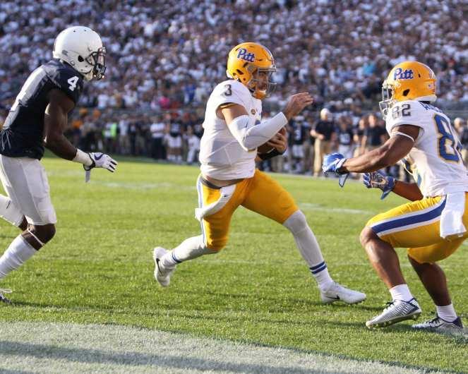 Ben DiNucci touchdown run September 9, 2017 -- David Hague