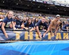 Pitt Student Section September 2, 2017 -- David Hague