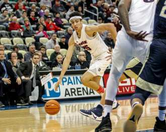 Tydus Verhoeven (25) in the City Game at PPG Paints Arena December 1, 2017 -- DAVID HAGUE