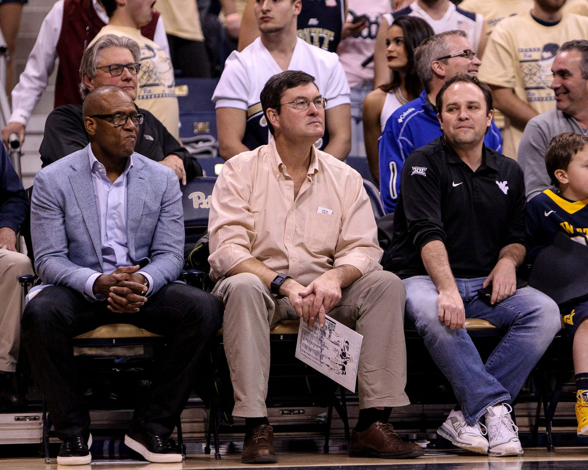 Bob Nutting sitting courtside on December 9, 2017 -- DAVID HAGUE