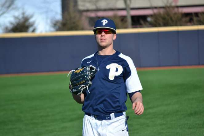 Pitt Baseball Catch