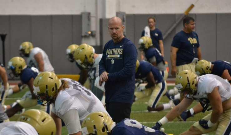 Josh Conklin at practice