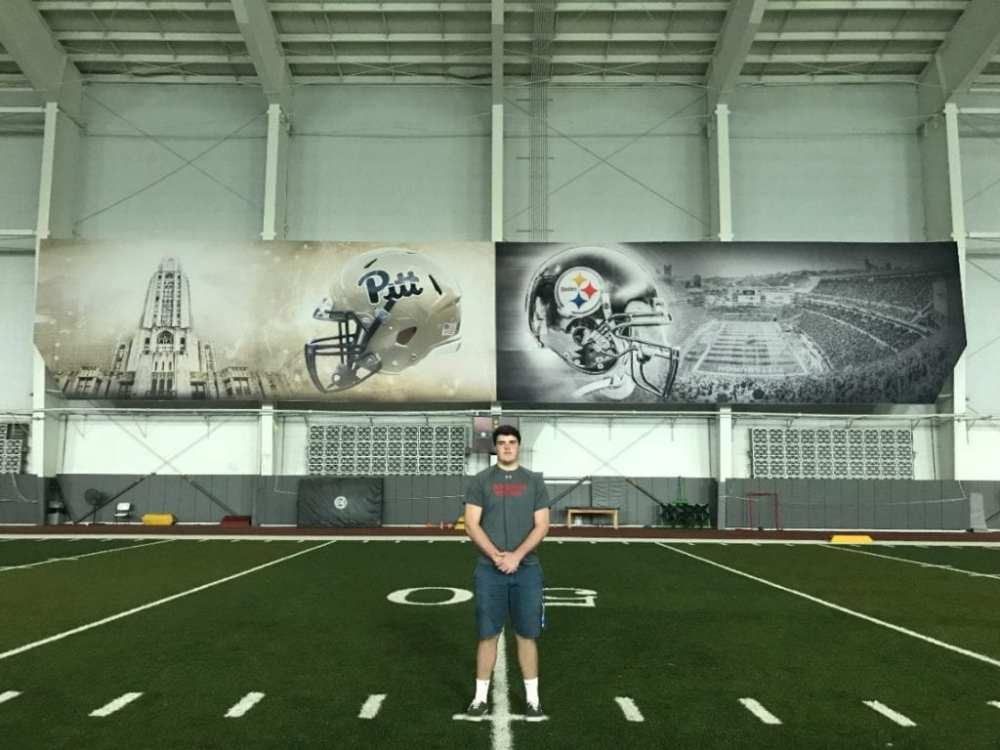 Jack Conley at UPMC Rooney Sports Complex