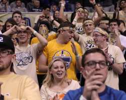 Pitt Student Section January 9, 2019 -- David Hague/PSN