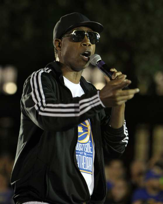 Doug E Fresh at Courtside by the Cathedral October 5, 2018 -- DAVID HAGUE