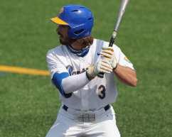 Sky Duff (3) Pitt Baseball April 6, 2021 Photo by David Hague/PSN