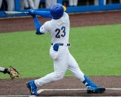 Ron Washington Jr (23) Pitt Baseball April 17, 2021 Photo by David Hague/PSN