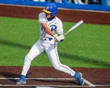 Brock Franks (11) Pitt Baseball April 17, 2021 Photo by David Hague/PSN