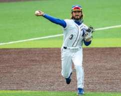 Sky Duff (3) Pitt Baseball April 17, 2021 Photo by David Hague/PSN