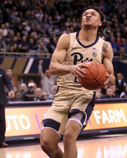 Trey McGowens (2) January 9, 2019 -- David Hague/PSN