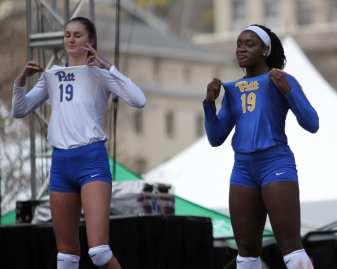 Pitt Volleyball April 7, 2019 -- David Hague/PSN