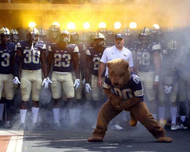 Pitt Ready to take the field September 1, 2018 -- DAVID HAGUE